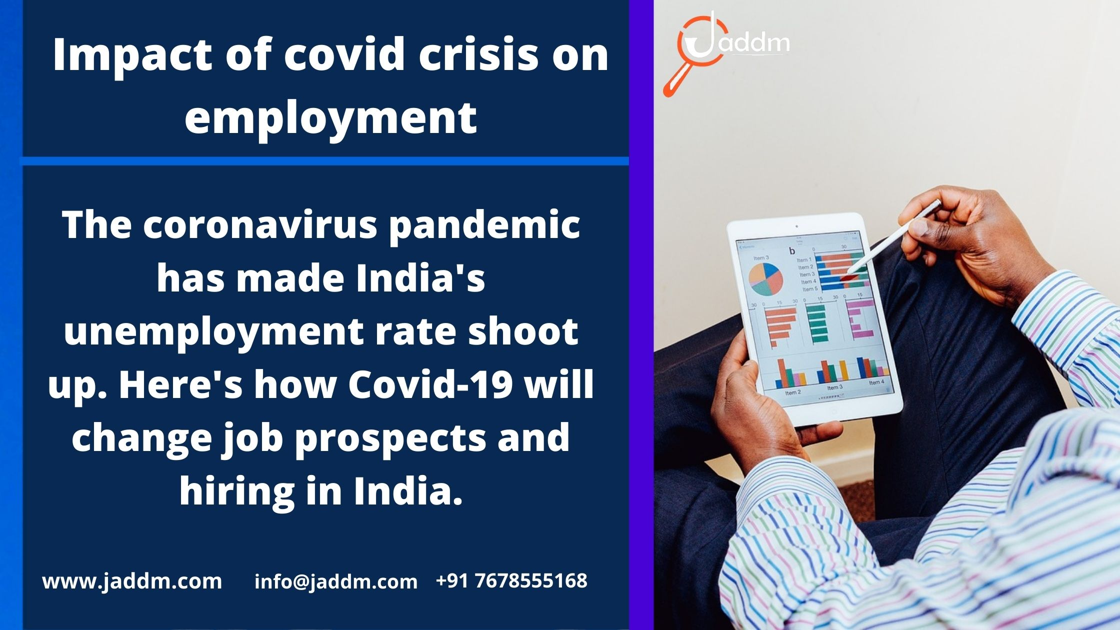 Impact of covid crisis on employment