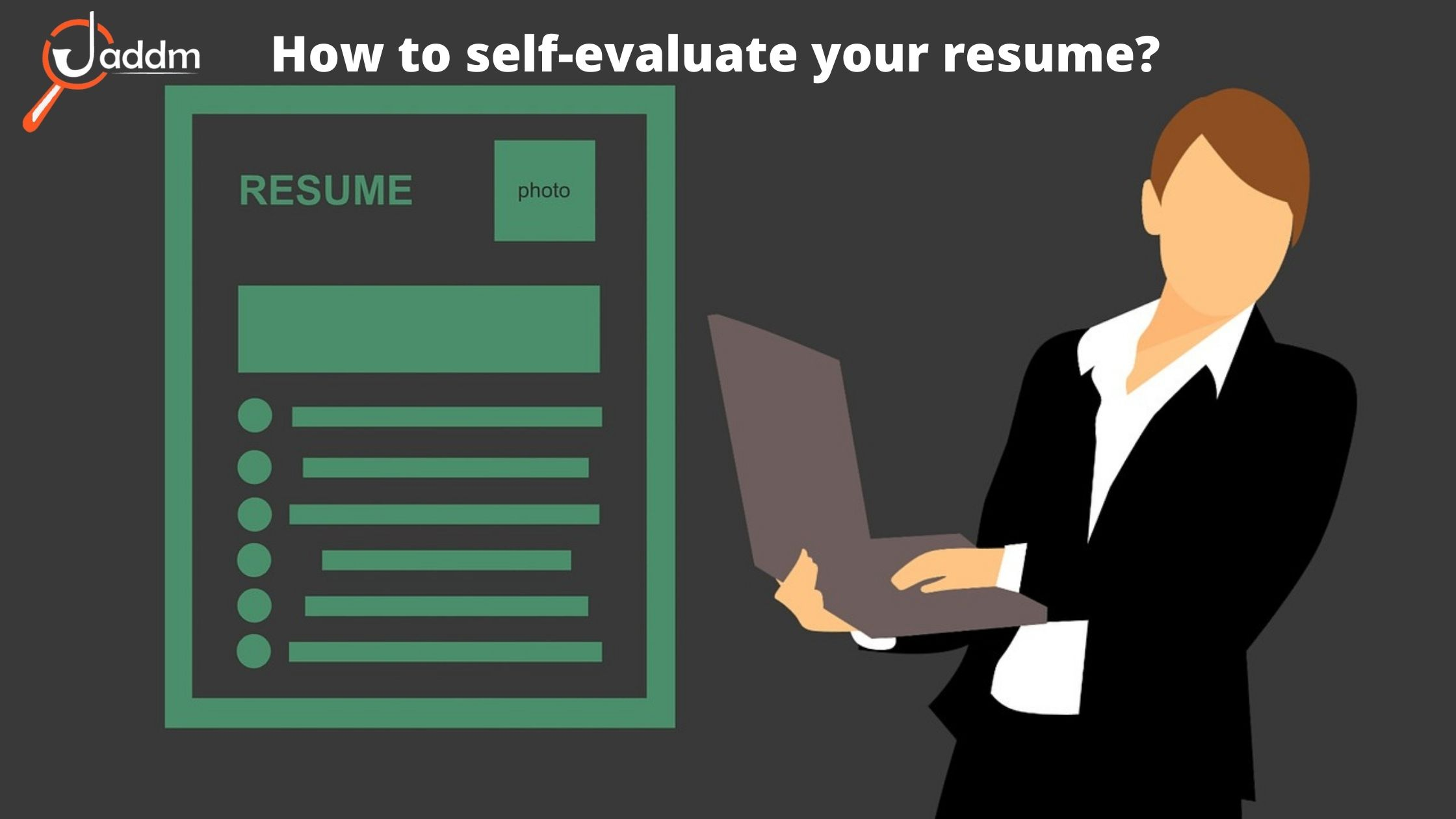 self-evaluation your resume