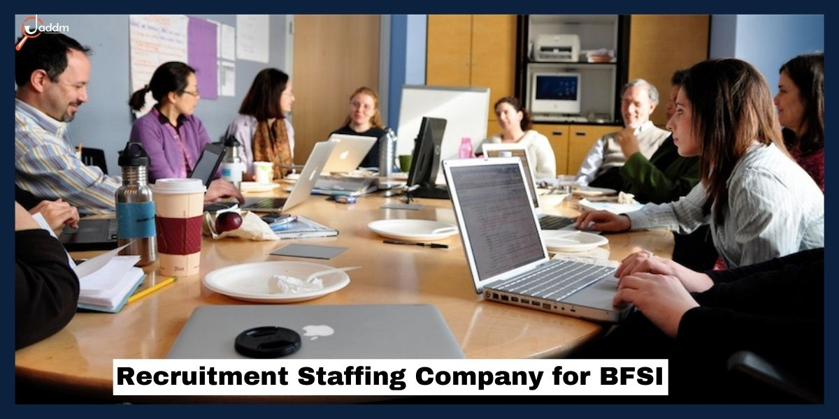 Recruitment Staffing Company for BFSI, Jaddm