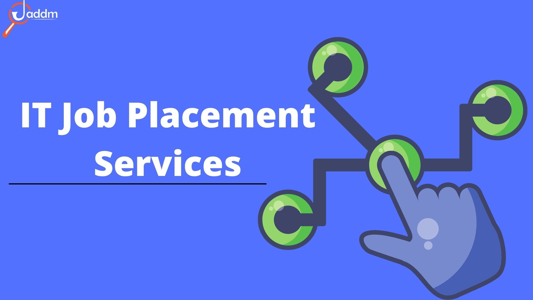 Best IT job placement services & Placement consultant